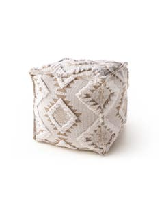 Pouf Osby Cream/Taupe