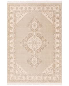 Teppich Folk Cream/Taupe